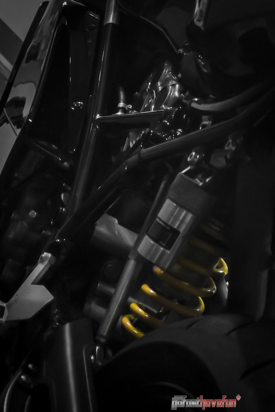 Go Fast have Fun Ducati 999 rear suspension