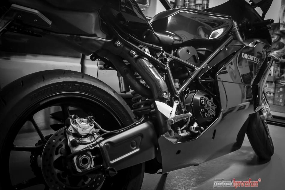 Go Fast have Fun Ducati 999 side