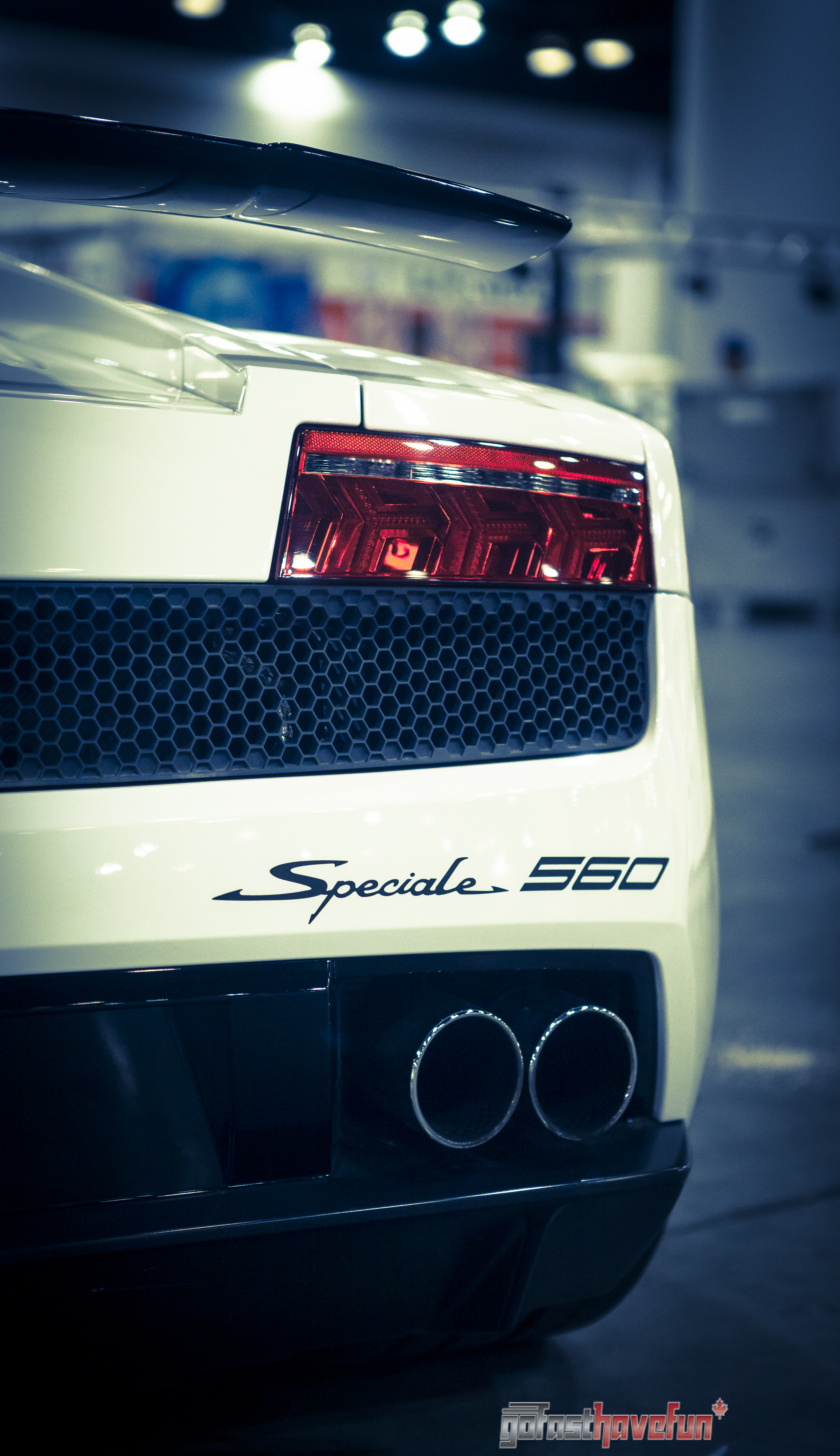 Go Fast have Fun Gallardo rear