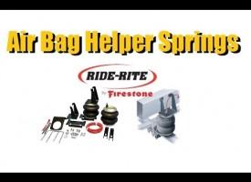 Air bag Suspension (Helper Springs)