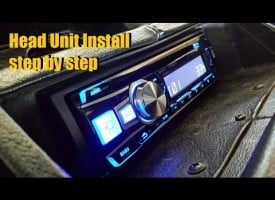 Head Unit Installation