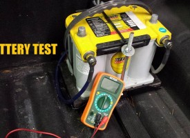 How to check a battery with a multimeter