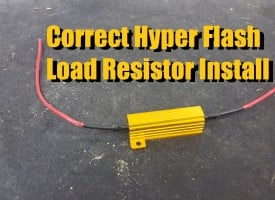 Load Resistor (Hyper Flash Elimination)