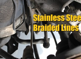 Stainless Braided Lines