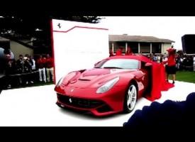Ferrari F12 Berlinetta Debut