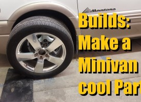 How to make a Minivan cool Part 1