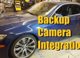 BMW M3 Backup Camera Install