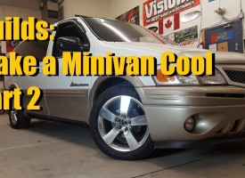Make a minivan cool Part 2