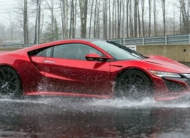 Top Gear's Chris Harris drives the new NSX