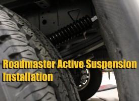 Roadmaster Active Suspension Installation