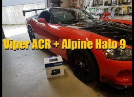 Viper ACR + Alpine Electronics' Halo 9