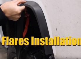 EZ Flares Installation