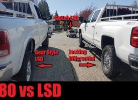 Locking Differential vs Limited Slip