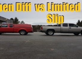 Open vs Limited Slip Differential
