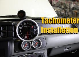 Tachometer Installation